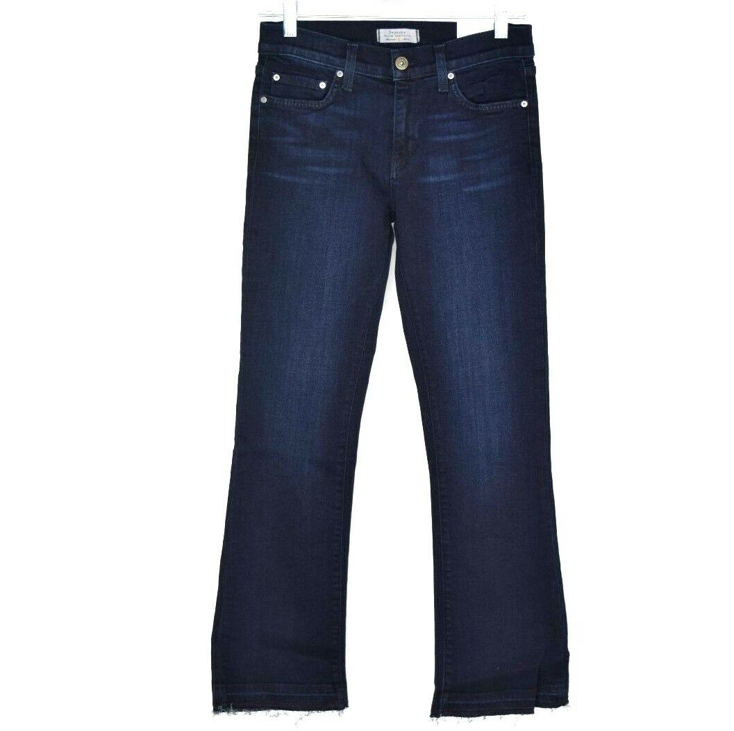 Principle Denim Innovators Womens Stretch Cropped Bootcut Jeans Size 27 NWT