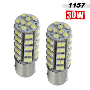 1157 New 3528 SMD Chip 68-LED 263 Lumen Brake Tail Stop Light Bulbs