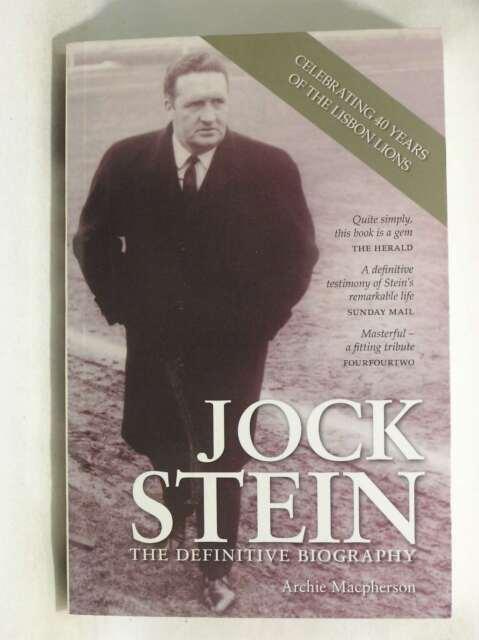 Jock Stein: The Definitive Biography, Archie Macpherson, Excellent Book