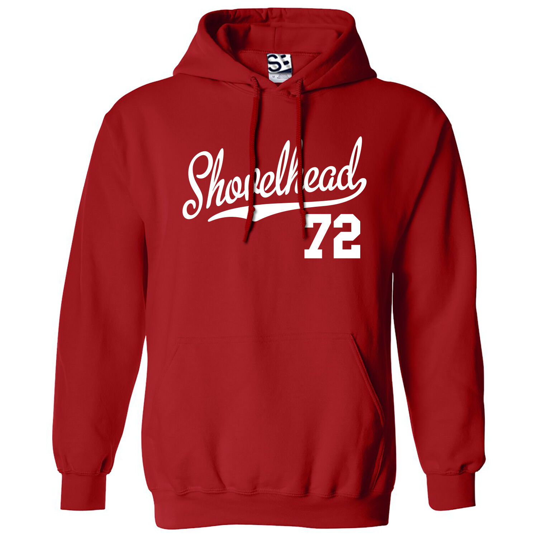 Shovelhead 72 Script Tail HOODIE 1972 Hooded Bobber Chopper Sweatshirt All Farbe
