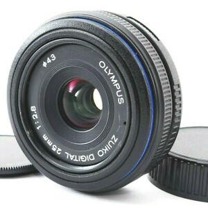 Near-Mint-Olympus-Zuiko-Digital-25mm-f-2-8-Lens-for-Four-Thirds-from-Japan