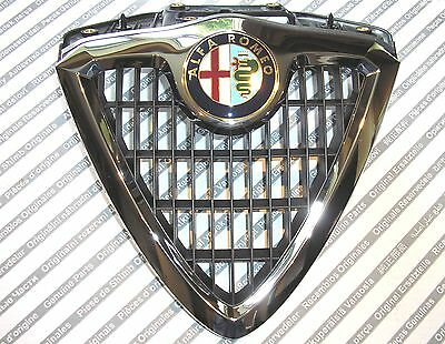 Alfa Romeo 156 mk1 new genuine front radiator grille + badge 156035881 60596492