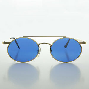Steampunk-Oval-Vintage-Glasses-with-Blue-Lenses-Gold-Hendrix
