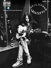 Neil Young Greatest Hits Sheet Music Guitar Play-Along Book and Audio 000700133
