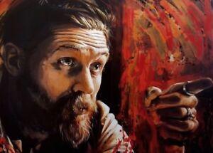 """Alfie Solomons Peaky Blinders Wall Art Canvas 20"""" X 30"""""""