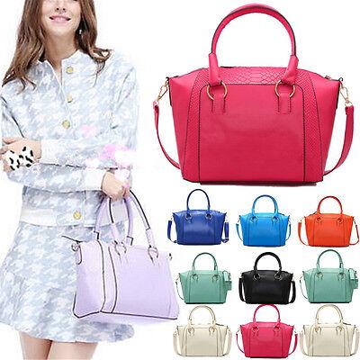 Women Lady PU Leather Handbag Satchel Crossbody Shoulder Bag Messenger Tote HOT