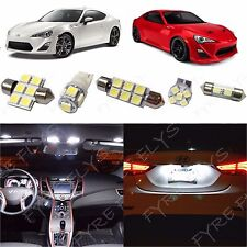 4x White LED Interior Lights Package Kit kit for 2013 - 2017 BRZ & FR-S SB1W