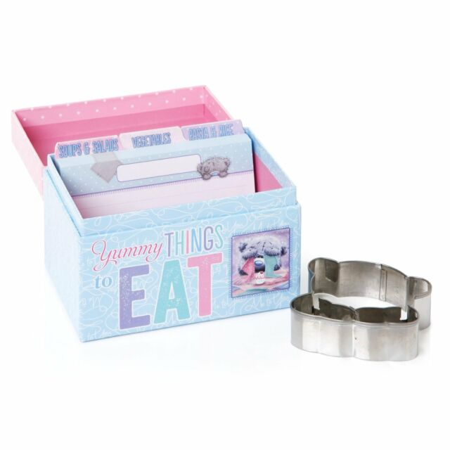 Me to You Bear Recipe Box and Cookie Cutter Gift G01Q5904