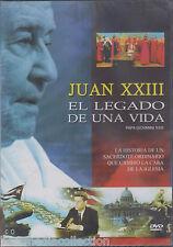 SEALED - Juan XXIII El Legado De Una Vida DVD NEW Papa Giovanni XXIII BRAND NEW