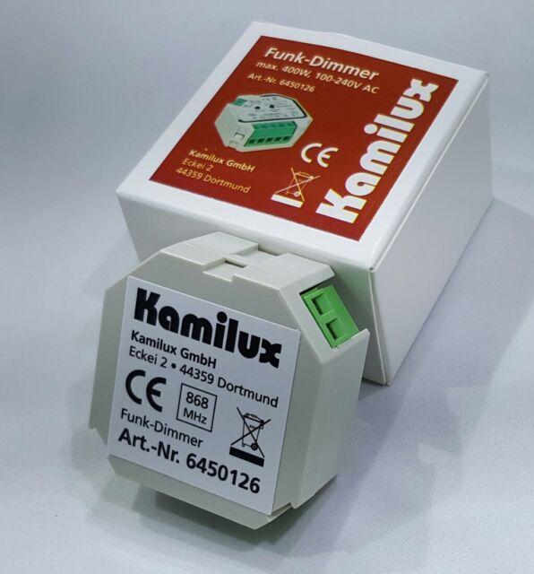 Kamilux LED Dimmer  max.400-8Watt 230V Spannung für LEDs/Funktechnik