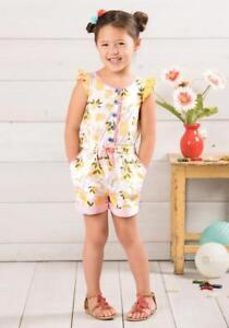 0c56cd969ed Matilda Jane Let s Make Lemonade Romper Girls Size 4 6 8 Adventure ...
