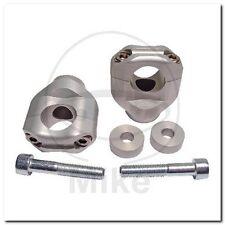 Klemmsatz Lenker silber 28MM 127T015SI bar riser clamps silver Triumph-Speed Tri
