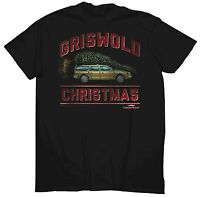 Men's Christmas Vacation T-shirt Small S Griswold Christmas Car With Tree