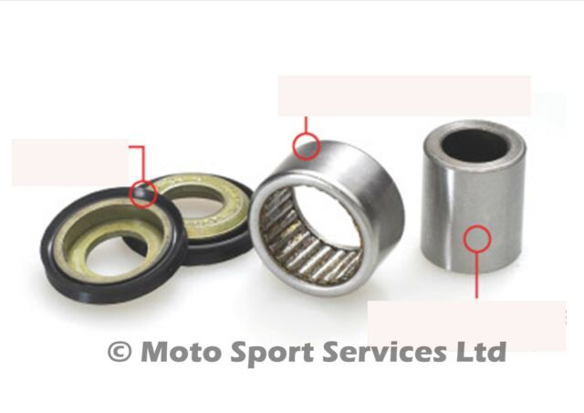 Shock Bearing Kit YZ 85 YZ 125 YZ 250 01-12 YZF 426 450 WR (29-5015)