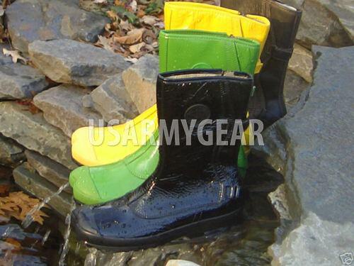 Vintage Palladium Shibuya Unique Patent Leather Fashion Designer Rain Boots 2004
