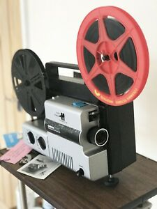 Chinon 2000GL SUPER 8 8MM VARIABLE SPEED  CINE PROJECTOR Fully serviced