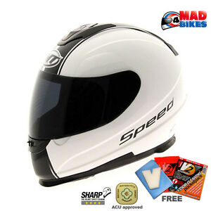 MT-034-Thunder-034-Velocidad-COMPLETO-MOTO-SCOOTER-Choque-Casco-ACU-Oro