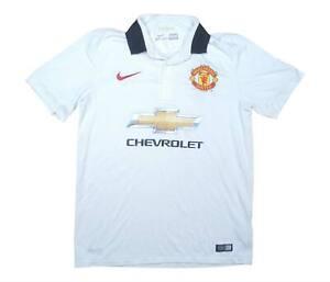 Manchester United 2014-15 ORIGINALE AWAY SHIRT (eccellente) M SOCCER JERSEY