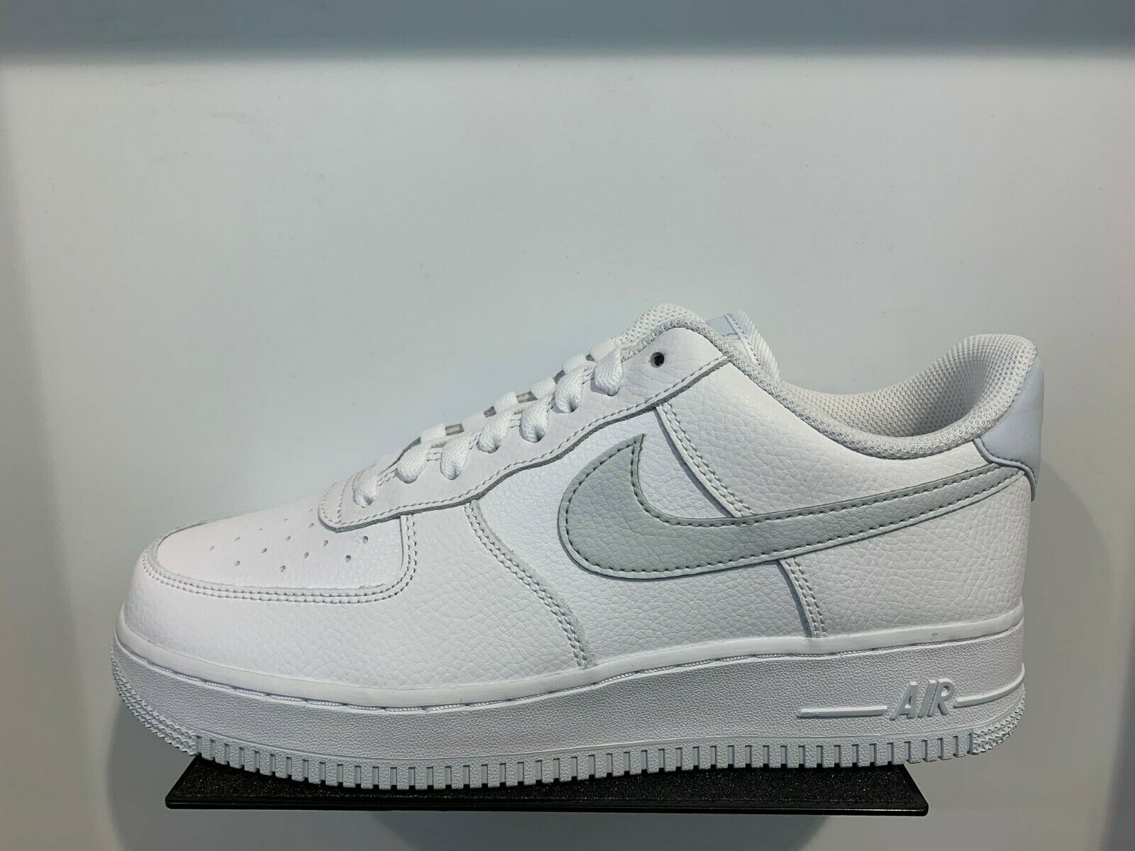 Nike Air Force 1 Low GTX White Grey Reflective Silver 3M Heel Size 8-13 New