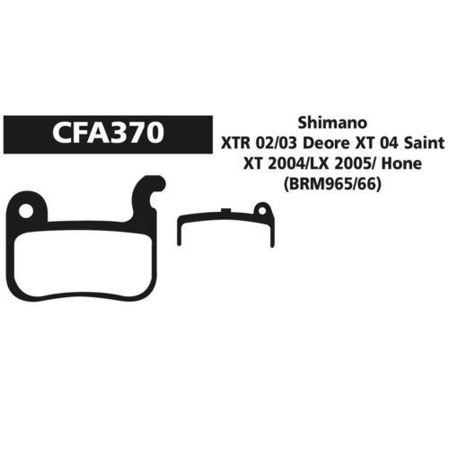 Shimano XT XTR LX Hone Mini Disc Brake Pads CFA370 EBC Green