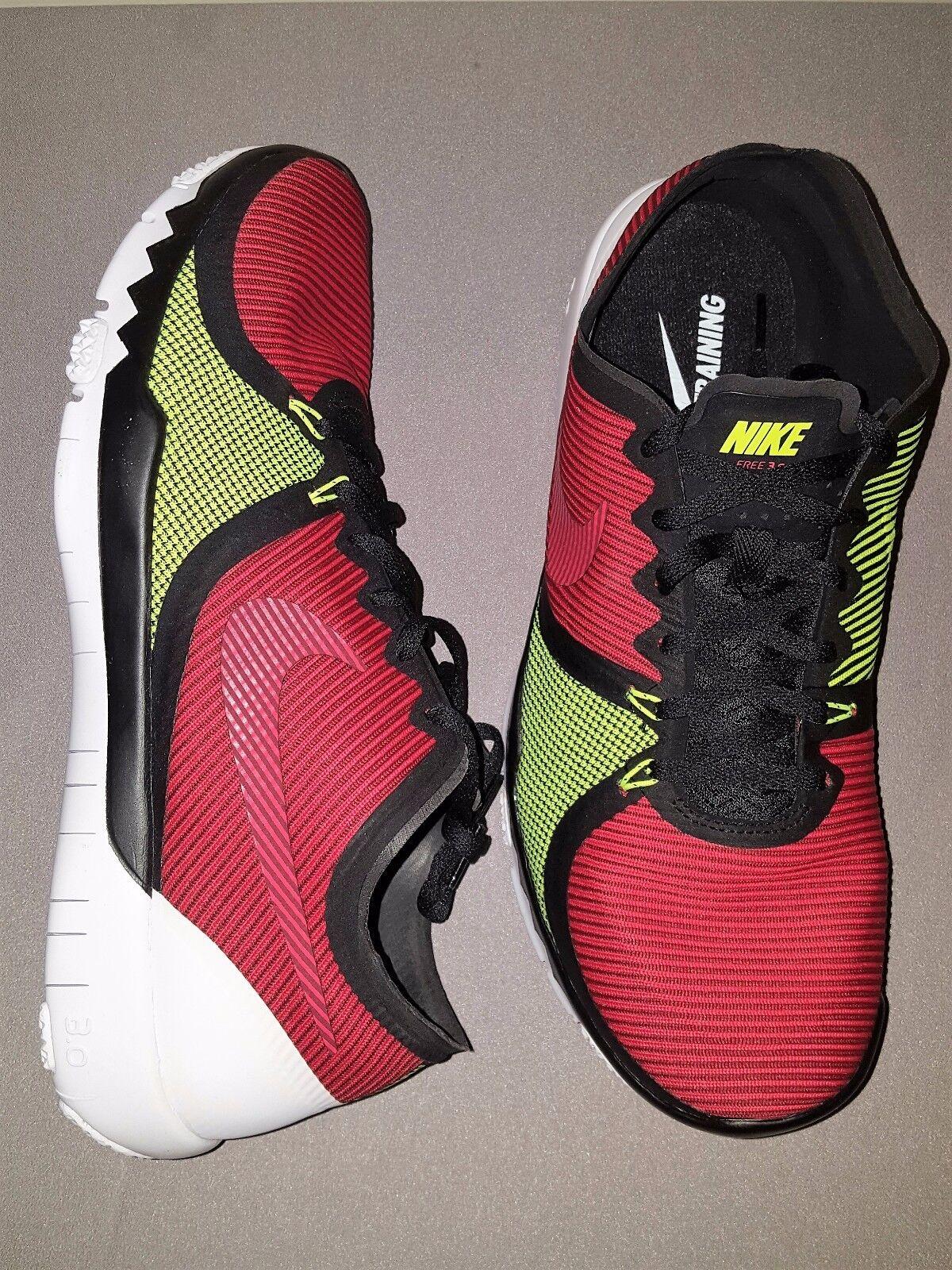 Nike V4 Free Trainer 3.0 V4 Nike Negro Rojo Zapatos  para Hombre US tamaño 11.5 Nuevo en Caja 749361 066 cb12ed