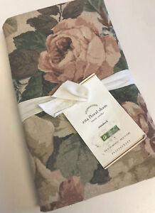 Pottery Barn Rita Floral Standard Pillow Sham Blush Pink