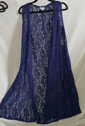 s Blue Nwt Joy Pensioneret Small Royal Lularoe Lace qxwABfv