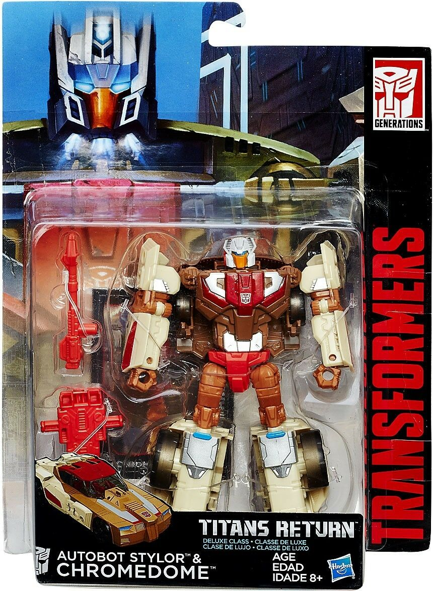 Transformers Generations Titans Return Stylor & Chromedome Deluxe Action Figure