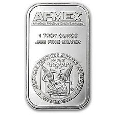 Struck - SKU #83304 APMEX 50 oz Silver Bar