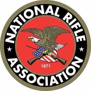 NRA National Rifle Association Gun Rights 2nd Amendment Vinyl Sticker Decal NEW
