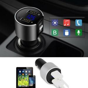 2018-Pro-Wireless-Double-USB-Car-Bluetooth-FM-Transmitter-Radio-Adapter-Charger