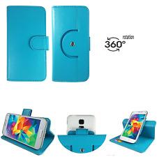 HUAWEI Ideos X3 - Handy Tasche Schutz Case Cover - 360° Türkis XS