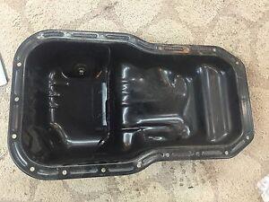 Genuine Toyota 12101 74091 Engine Oil Pan Ebay