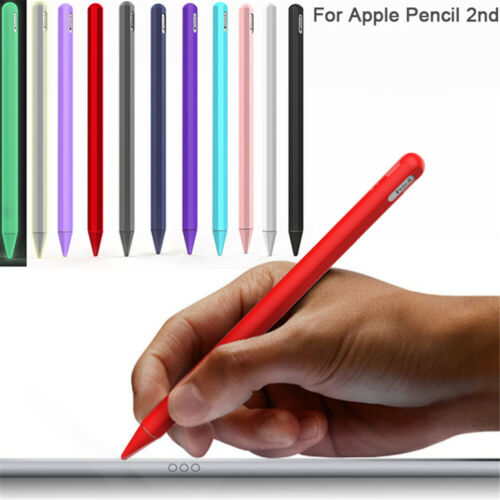 Sleeve Wrap Protective Skin Silicone Case Nib Cover For Apple Pencil 2 iPad Pro