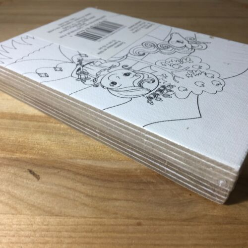 "Creatology Kids Craft Color-In Canvas Mini Boards Princes Unicorn 8Pc 5.9/""x3.94/"""