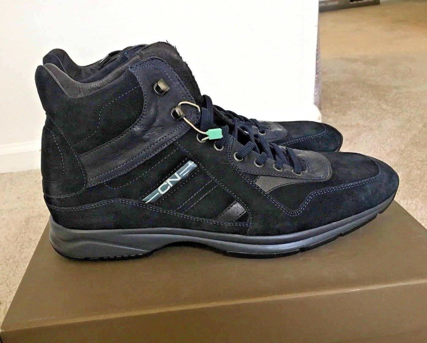 Cafe black Hi Top Sneakers Boots Hogan shoes Men