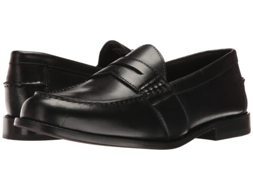 Nunn Bush Men/'s NOAH Penny loafer slip-on Leather Black Shoes 84691-001