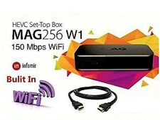 Mag 256_W1 - Infomirs World Class IPTV HD - Wifi Built-in Compare Dreamlink Avov
