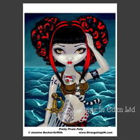 **PRETTY PIRATE POLLY** Fantasy Photo Art Print By Jasmine Becket-Griffith