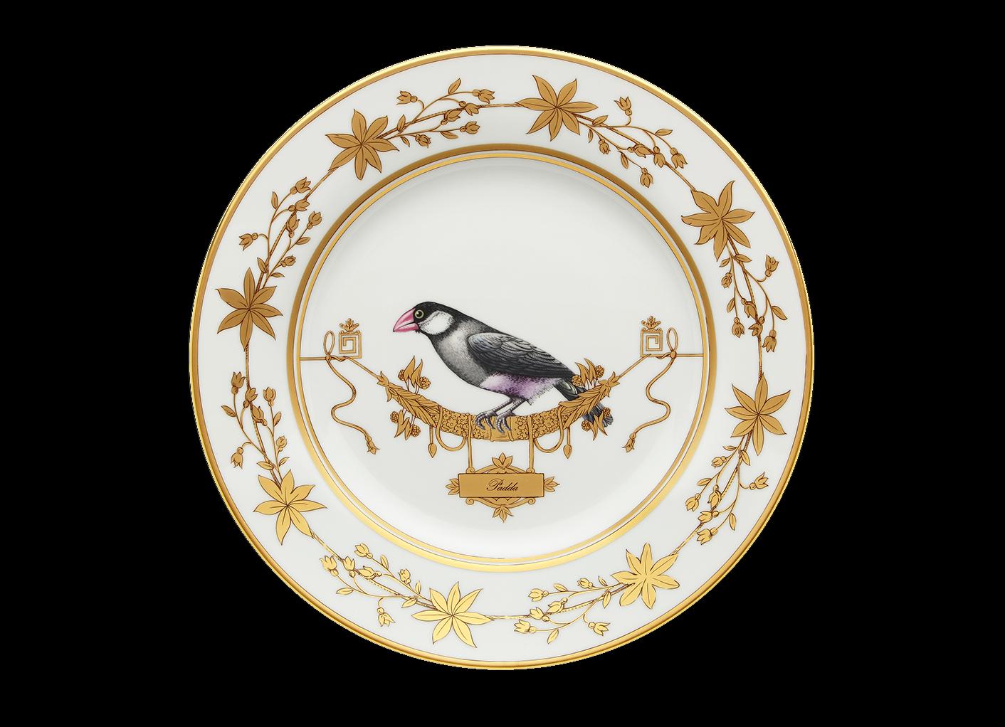 Richard Ginori Voliere flache Platte Deko Java Java Java Sparrow Ø cm 26,5 Einzelhändler | Zuverlässiger Ruf  33b54e