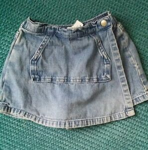 à Condition De Baby Gap Fille Jupe/short Short Summer Denim 12-18 Mois-afficher Le Titre D'origine