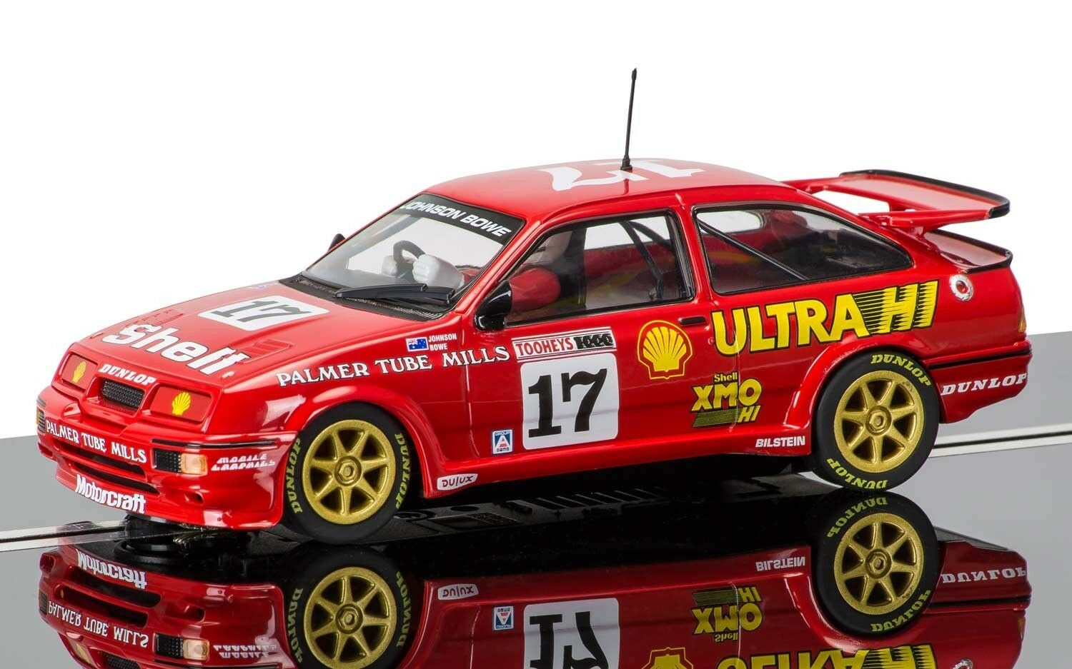 Scalextric - C3740 Ford Sierra RS500 - 1989 Bathurst 1000 - NEW