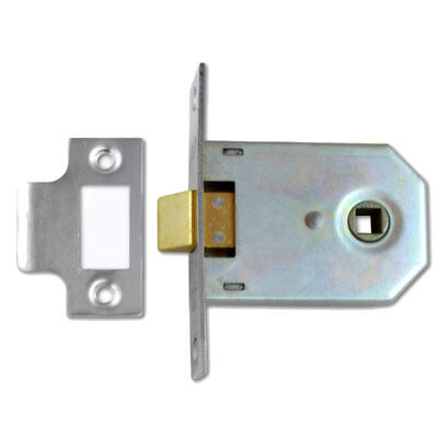 "3/"" UNION 2642 MORTICE LATCH 76mm CHROME FINISH"