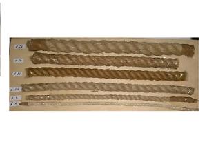 in vendita al metro lineare 9642006 corda di canapa d.6mm