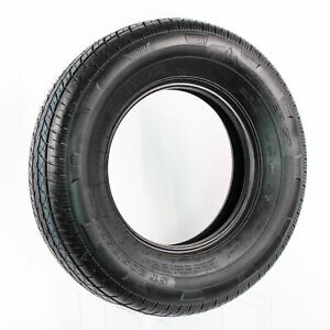 eCustomrim Rainier Radial Trailer Tire ST205/75R14 Load Range C 1760 Lb. 50 PSI