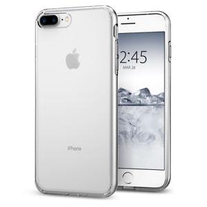 new style 1e5a7 e66c2 Details about iPhone 8 Plus / 7 Plus Spigen® [Liquid Crystal] Clear  Protective Case Cover