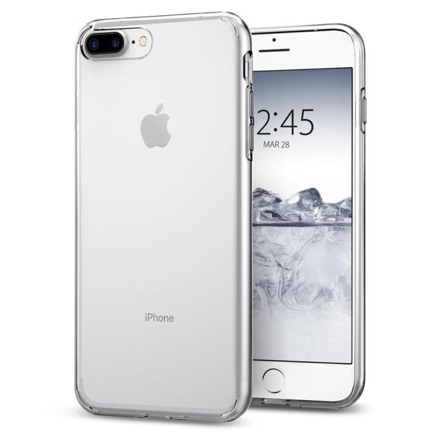 online retailer eedce 3e893 iPhone 8 Plus / 7 Plus Spigen® [Liquid Crystal] Clear Protective Case Cover