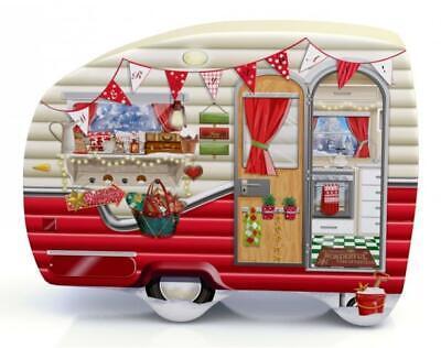 Boîte Gebäckdose Vorratsdose Camping Bus Caravane Camper 23 cm schmuckdose