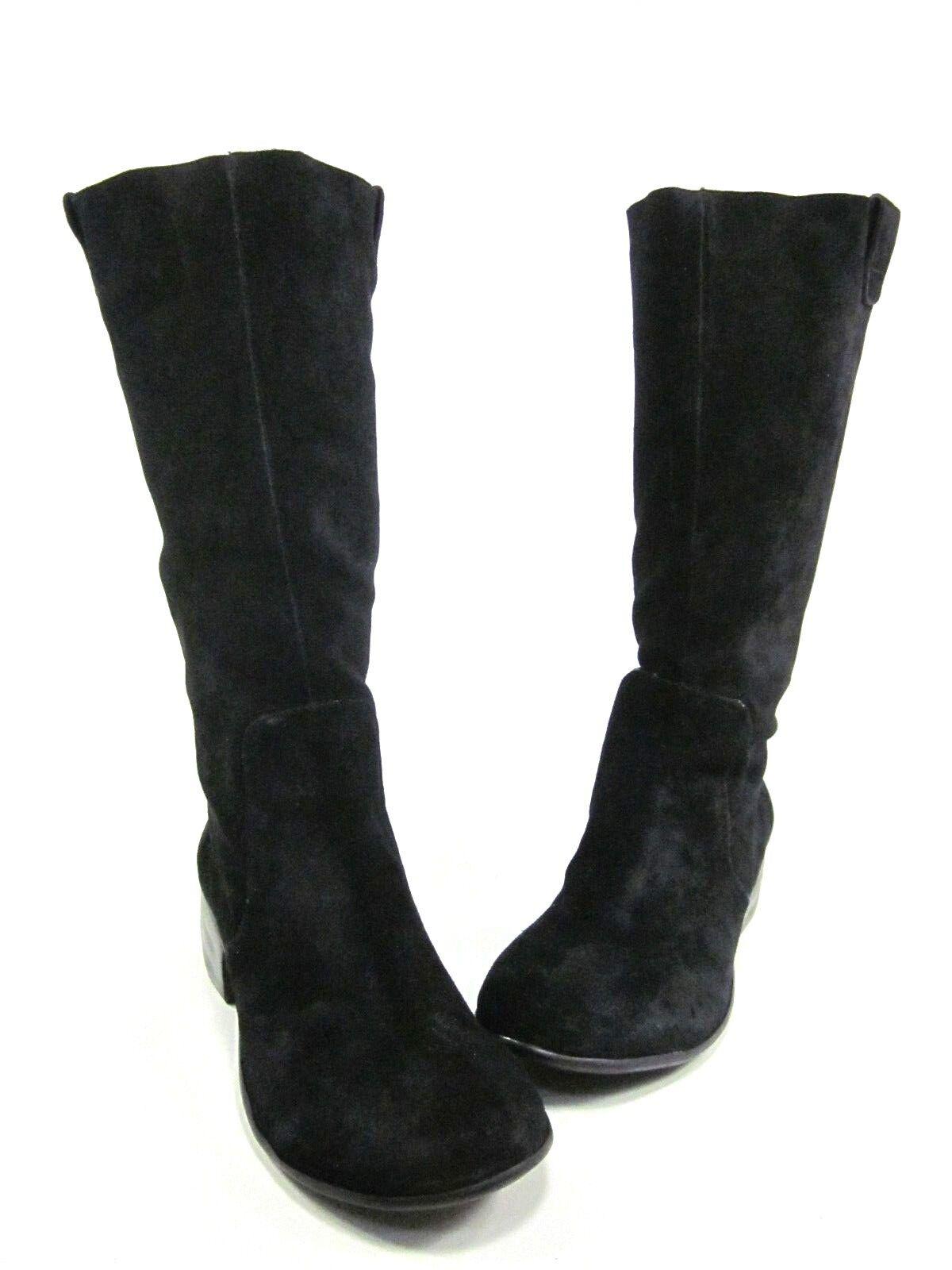 HK BY HEIDI KLUM damen MILEY SUEDE Stiefel, schwarz, US Größe 11 M, NEW W O BOX