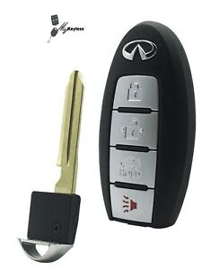 Details about New Infiniti Q50 QX50 Remote Keyless Entry Smartkey w/ Uncut  Key KR5S180144203
